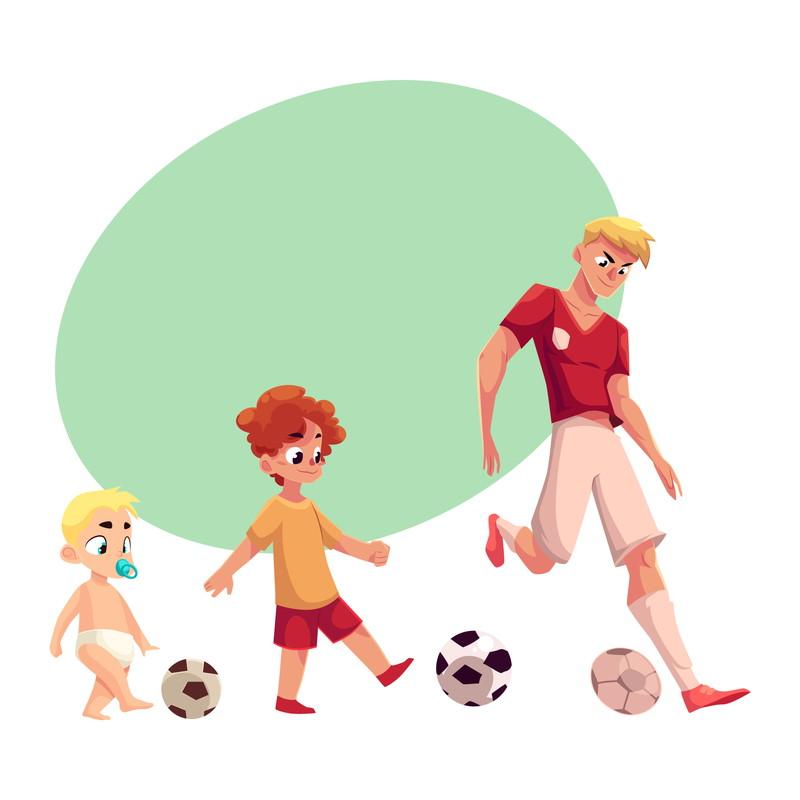 小さい頃からサッカー